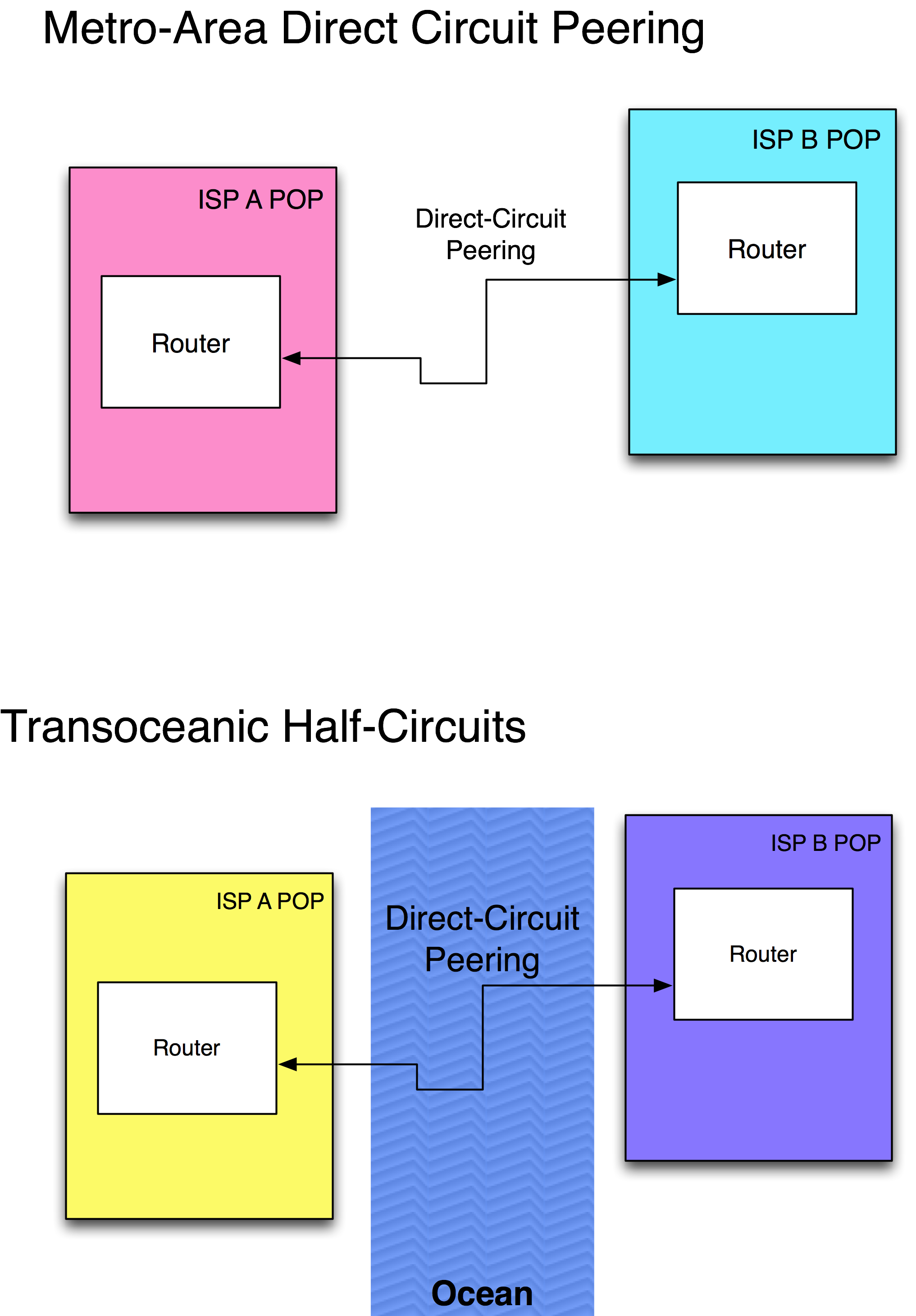 Direct Circuit Model peering