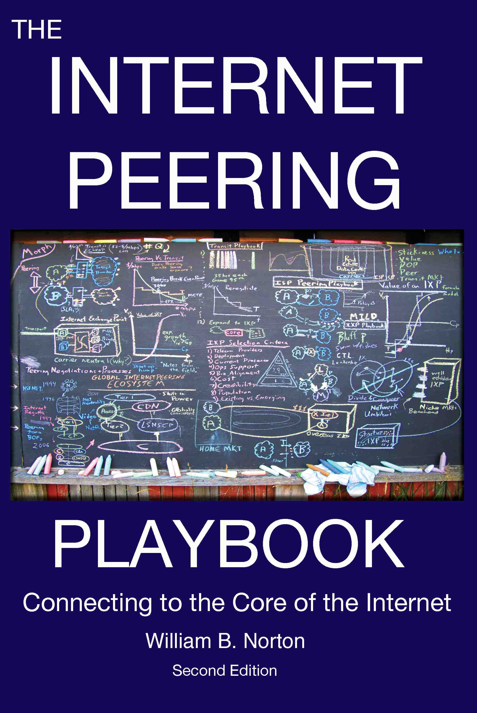 Front Cover of The Internet Peering Playbook