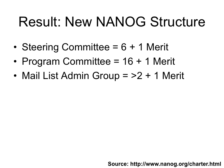 New NANOG Structure